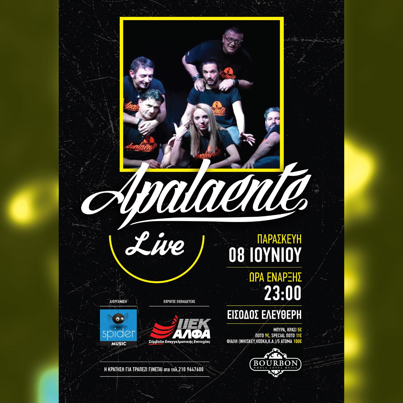 Apalaente - Live